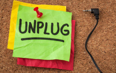Personal Note from Julie: Can You Unplug?