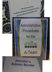 Personal Note from Julie: Procedures Challenge Pros