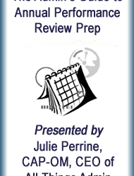 Webinar: The Admin's Guide to Annual Performance Review Prep