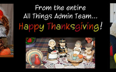 Happy Thanksgiving from All Things Admin
