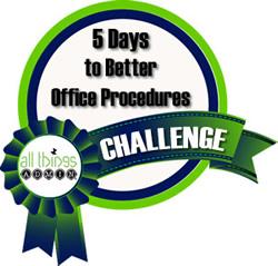 5 Days to Better Office Procedures Challenge