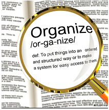 Personal Note from Julie: It's National Get Organized Month