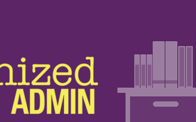 It's Here! The Organized Admin Book is Now Available on Amazon!