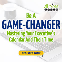 Be a Game-Changer: Master Your Executive's Calendar and Their Time