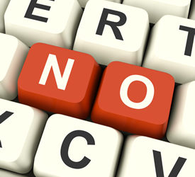 Note From Julie: The Benefits of Saying No
