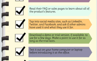 An Admin's Guide to Using New Tech Tools [Infographic]