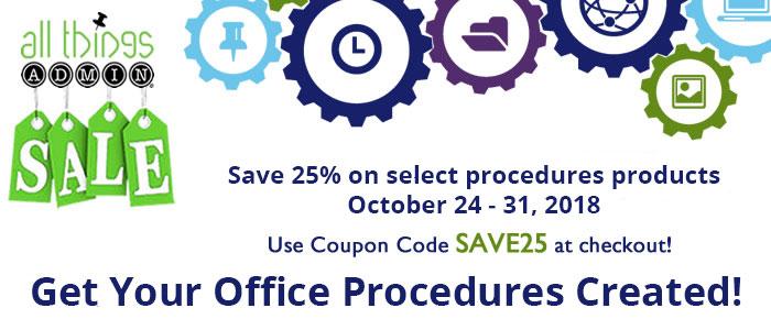 Procedures-Products-Sale