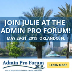 Learn from the Best at the 2019 Admin Pro Forum
