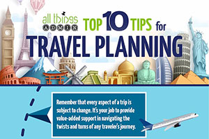 Top 10 Tips for Travel Planning [Infographic]