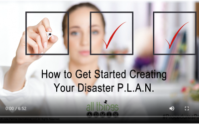 VIDEO: How to Get Started Creating Your Disaster P.L.A.N.