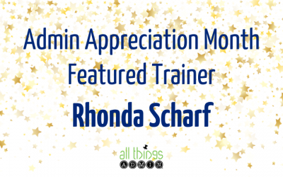 Featured Trainer: Rhonda Scharf