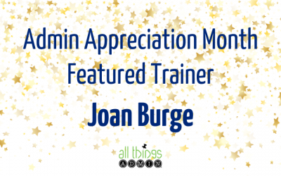 Featured Trainer: Joan Burge