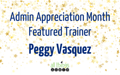 Featured Trainer: Peggy Vasquez
