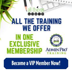 AdminPro Training VIP Pass