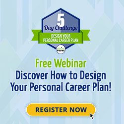 Free Webinar: Discover How to Design Your Personal Career Plan – April 15, 2021