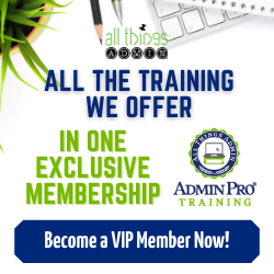 AdminPro Training VIP Pass
